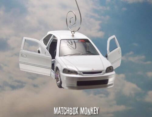 1997 Honda Civic Type-R Hatchback Custom Christmas Ornament Adorno 1//32 Hatch