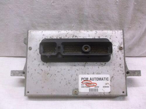 00-01-02 SATURN S SERIES  AUTO   ENGINE CONTROL MODULE//COMPUTER.ECU.ECM.PCM
