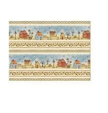 Red Rooster YARD Sew Nice To Be Home House Toss Beige Country Fabric