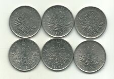 One roll 1960-1966  Switzerland 44 coins 83.5/% Silver One Swiss Franc Coins