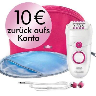 Braun Silk-epil 5 5187 Epilierer - Geschenkset mit Kopfhörer & 10 EUR Cashback!!