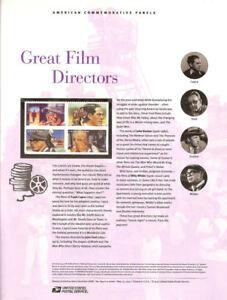 894-45c-Forever-Great-Film-Directors-4668-71-USPS-Commemorative-Stamp-Panel