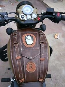 Magnificent Details About Sahara Seat Tank Cover For Royal Enfield 350 500 Dark Brown Classic 350 Evergreenethics Interior Chair Design Evergreenethicsorg