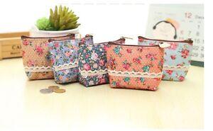 Mini-kleine-Kosmetiktasche-Stiftetasche-Stoff-Blumen-Flower-Tasche-Damen-Spitze