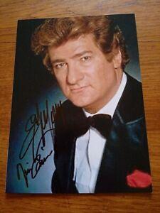 Autographe,Dédicace D Eddy Mitchell Sur Photo 12/17 Cm