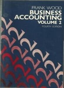 Business-Accounting-v-2-Wood-Frank-Used-Good-Book