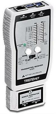 TRENDnet VDV & USB Cable Tester Tests voice/data/video and USB cables