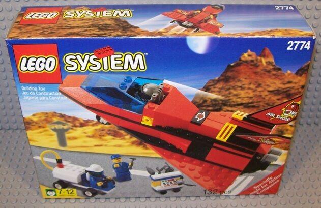 Lego Town Classic Town Airport 2774 salgan Tigre Rojo Nuevo Sellado