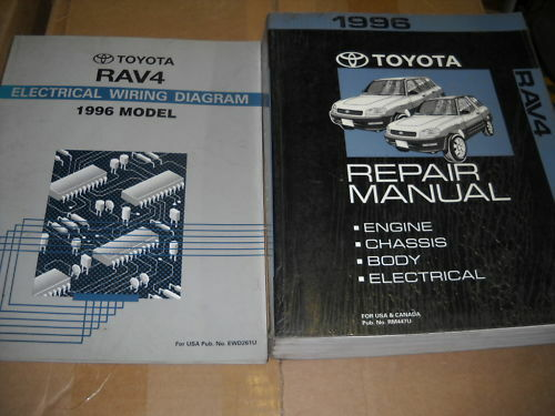 1996 Toyota Rav4 Rav 4 Service Shop Repair Workshop Manual