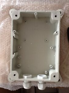ip ptz wall mount fits pelco dome juction box wire box ebay. Black Bedroom Furniture Sets. Home Design Ideas
