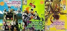 Digimon Adventure Tri The Movie ( 1. Saikai 2. Ketsui 3. Kokuhaku ) _ Anime DVD