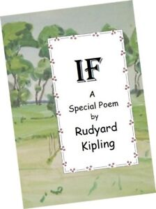 MINIATURE-BOOK-Rudyard-Kipling-IF-a-Special-Poem-Ideal-gift-for-a-graduate