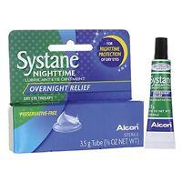 Systane Nighttime Lubricant Eye Ointment 3.50g Each on sale
