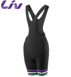 Black//Purple Size XS LIV Race Day Women/'s Bib Shorts M
