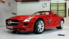 G 1:24 Scale Mercedes SLS AMG Roadster 31272 Detailed Maisto Diecast Model Car