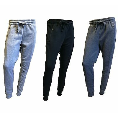 Ladies Women's Summer Skinny Leg Light Weight Joggers Zip Up Pockets Sweat Pants