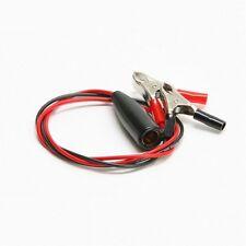 Für Batterie o. Akku Ladegerät / Ladegeräte Adapter: Batterieklemmen Ladezangen