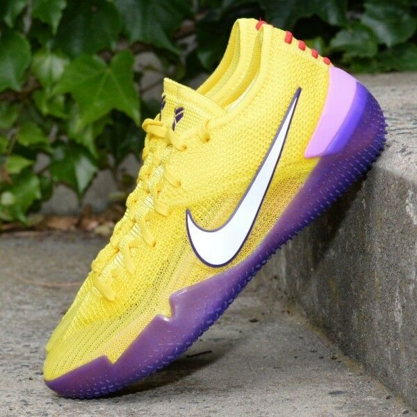 Nike Kobe AD NXT 360 Lakers scarpe giallo Strike  viola Basketball   Strike e1d358