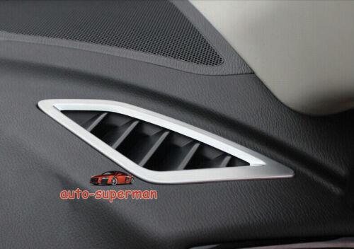 Details about  /Matt chrome Dashboard console AC Air Vent Trim cover For Mazda3 2014 2015 2016