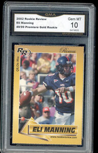 2002-Eli-Manning-Rookie-Review-Gold-rookie-gem-mint-10-ed-to-99