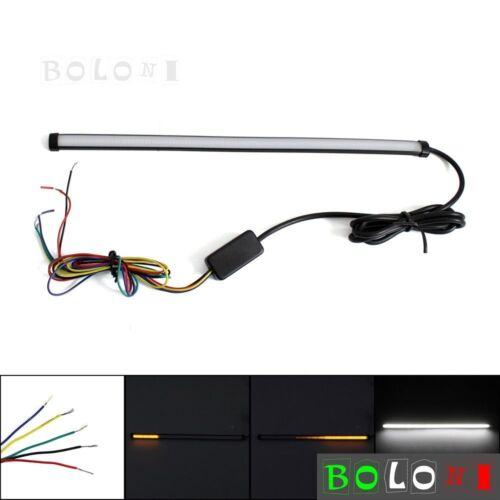 Switchback Flowing LED Motorcycle Tail Rear Brake Stop Turn Signal Lights Strip