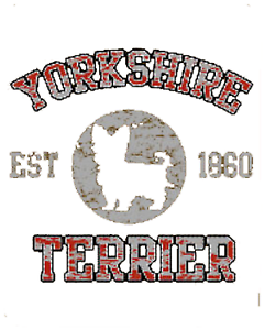 Yorkshire Terrier Est 1860 Shirt Pick Your Size Youth Medium to 6 X Large