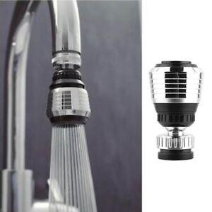 360 degree swivel tap aerator sink mixer faucet nozzle dual spray rh ebay com