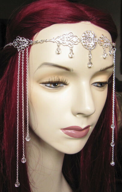 Medieval RENAISSANCE Princess BRIDAL Crown/CIRCLET/Headpiece/Headdress/Tiara