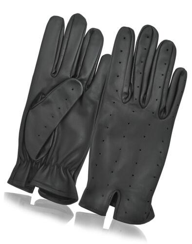 Premium Quality Soft Leather Dress Driving Gloves Retro Style Mens Vintage