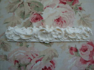 Gorgeous! Shabby & Chic Ornate Architectural Molding Trim Scroll Floral Leaf