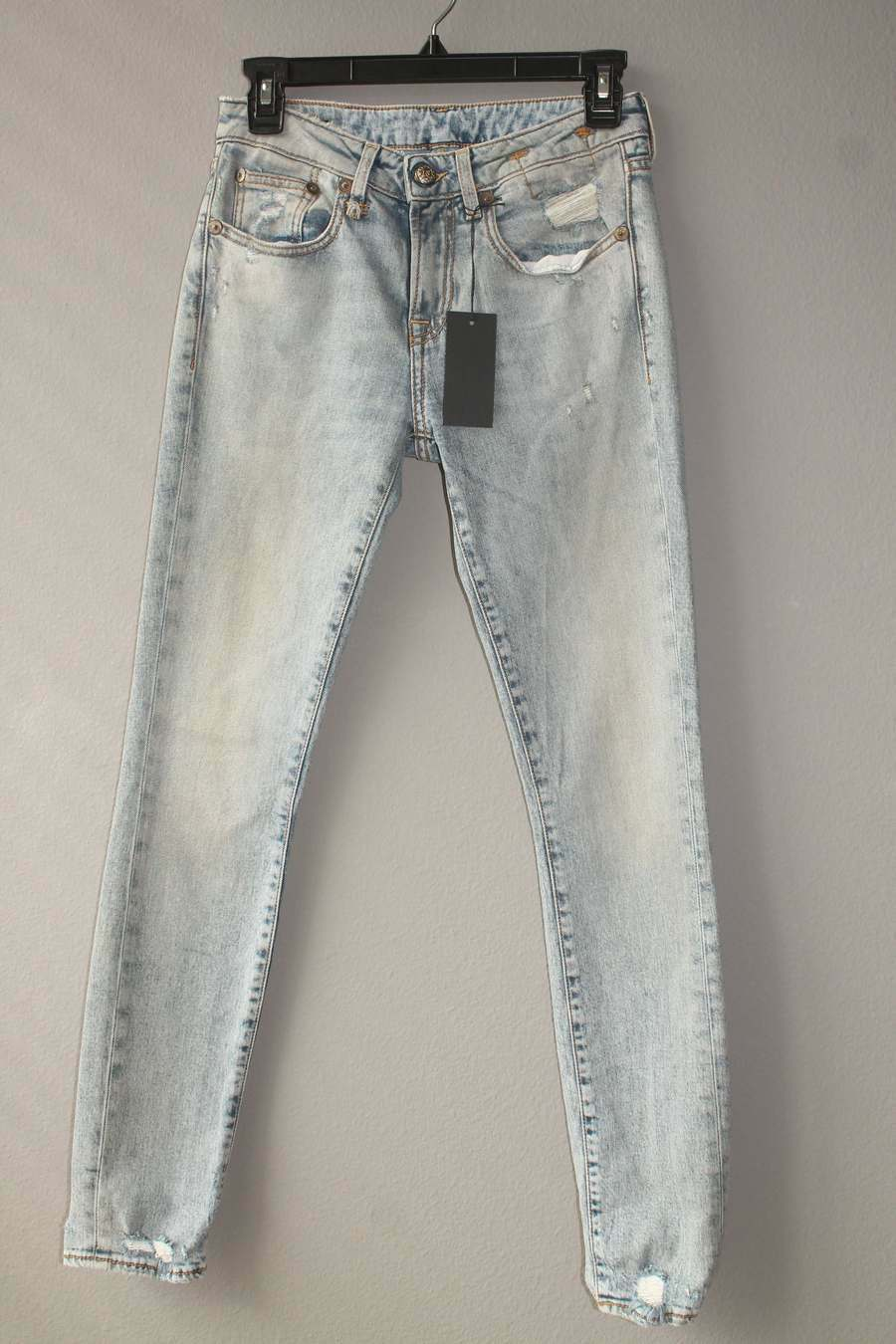 R13 WOMENS JEANS ALISON CROP LINCOLN CLEAN SIZE 26 NEW