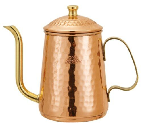 Kalita Coffee Tea Drip Kettle Copper Pot 600ml 1.06lb Metal JAPAN Import