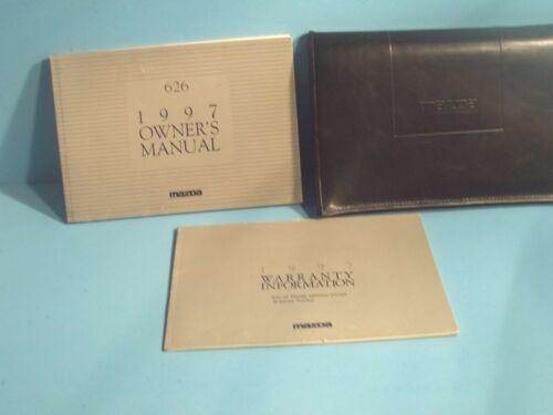 97 1997 Mazda 626 owners manual