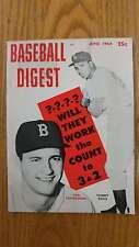 Baseball Digest June 1964 Sports Magazine J45787