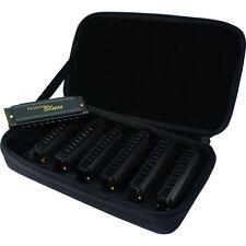 Hohner Piedmont Blues Seven Piece Harmonica Set with Case 7 Harmonicas Harp Pack