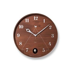 Lemnos BW LC1109 Wall Clock PACE Brown LC1109