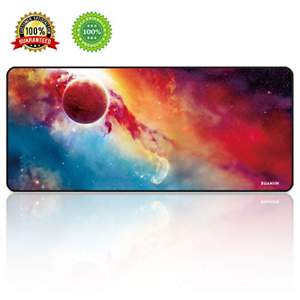 """Thick Large 27.6/""""×11.8/""""×0.12/"""" Computer Mouse BUANIIH Extended Gaming Mouse Pad"""