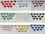 12-Paillettes-Coeur-Cupcake-Toppers-Parti-Decoration-cup-cake-topper-Food-drapeaux miniature 1