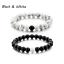 Nouvelle distance Bracelets pour les amoureux Amis Cadeau 8 mm Perles couples cadeau de Noël