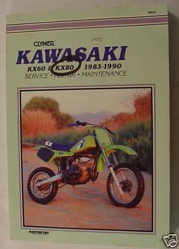 Clymer Kawasaki Kx 60 80 83