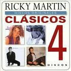 Clasicos [Slipcase] by Ricky Martin (CD, 2013, 4 Discs, Sony Music)