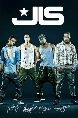 Maxi Poster 61cm x 91.5cm JLS New Group new /& sealed