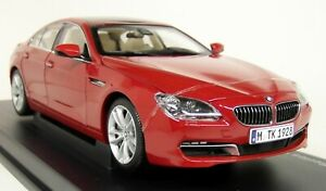 Paragon-1-18-Scale-BMW-650i-Gran-Coupe-F06-Melbourne-Red-Diecast-Model-Car