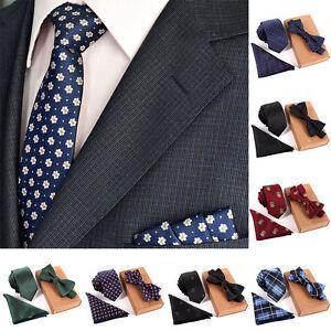 3PCS-Set-Slim-Print-Tie-Set-Men-Bow-Tie-and-Handkerchief-Bowtie-Necktie