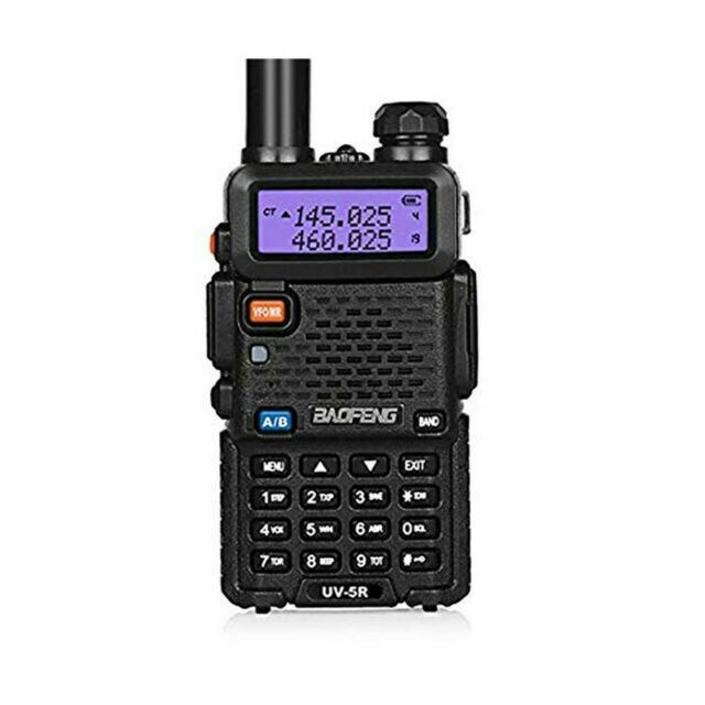Baofeng UV-5R 8W VHF UHF Dual Band Walkie Talkie Two Way Radio Transceiver 128CH