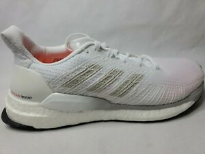 Adidas-Solar-Boost-19-M-Cloud-White-Mens-9-Running-Shoes-Sneakers-G28058-New