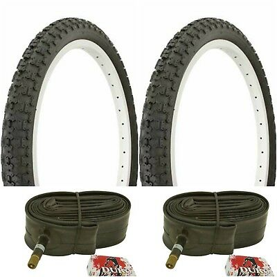 2-20x1.75 BMX* Bike 1.95// 2.126 Bicycle Inner Tubes Pair