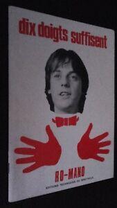 Diez Dedos Son Bastantes Ro-Mano Ediciones Técnicas de La Show Dibujado 1979 ABE