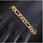 18k-Goldkette-Armband-Panzerkette-Arm-Schmuck-Herren-Maenner-Damen-vergoldet-GA9 Indexbild 2