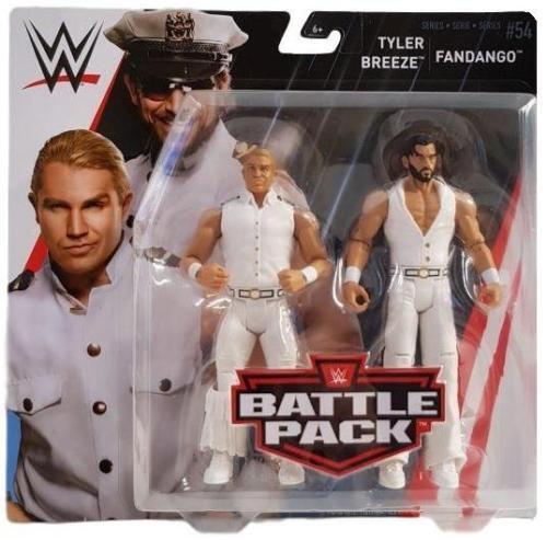 WWE TYLER BREEZE FANDANGO TAG TEAM BATTLE PACK SERIES 54 WRESTLING MATTEL FIGURE